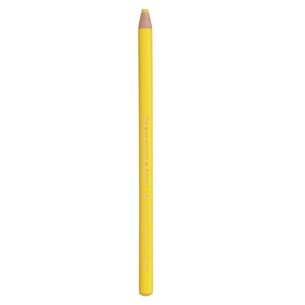 Lápis Mitsubishi Dermatográfico Amarelo 1 UN Sertic