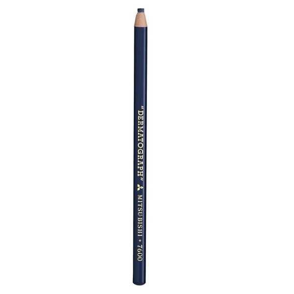 Lápis Mitsubishi Dermatográfico Azul 1 UN Sertic