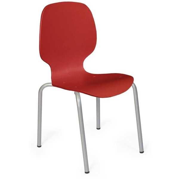 Cadeira Maelhada Vermelho 1 UN Xplast