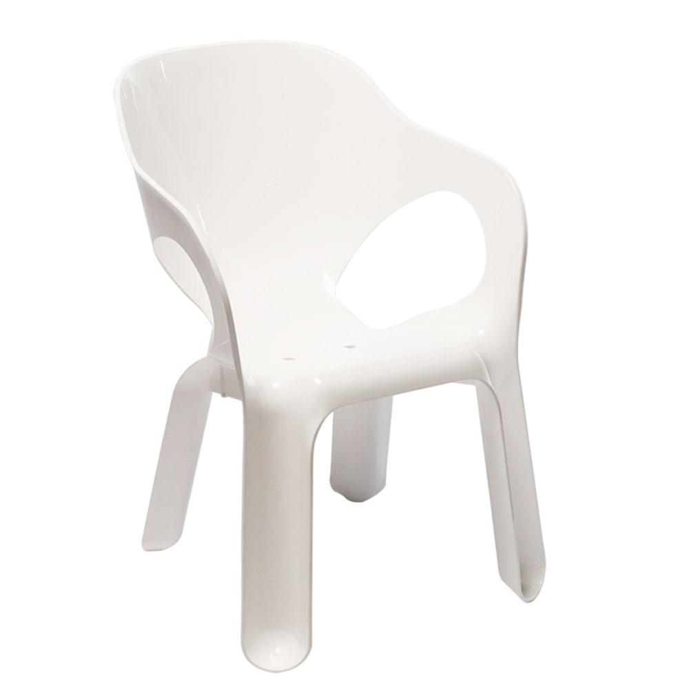 Cadeira Kids Branco 1 UN Xplast