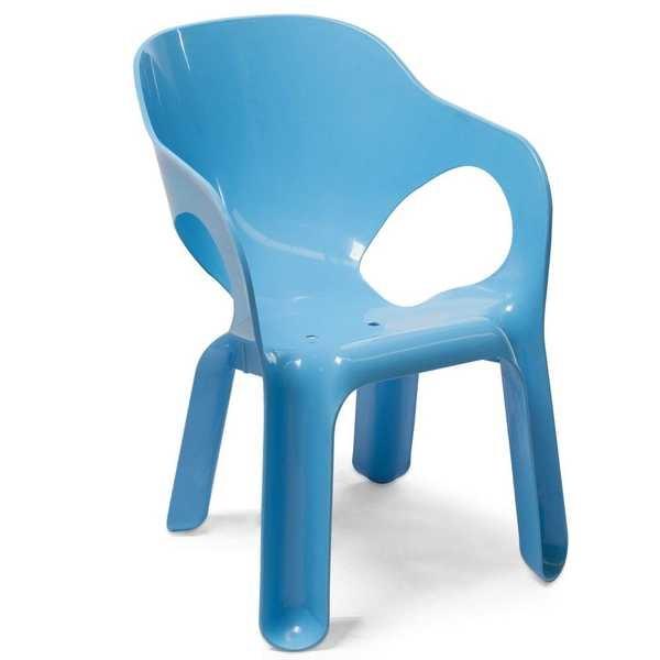 Cadeira Kids Azul 1 UN Xplast