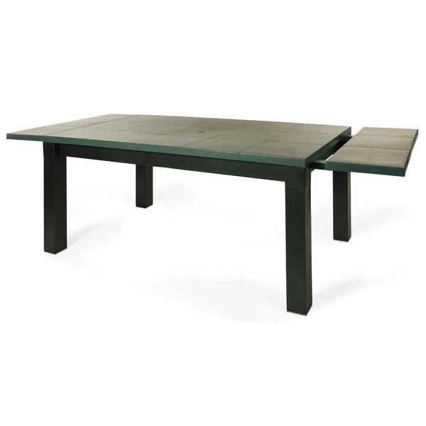 Mesa Santanas Verde 123x96x77,5cm 1 UN Xplast