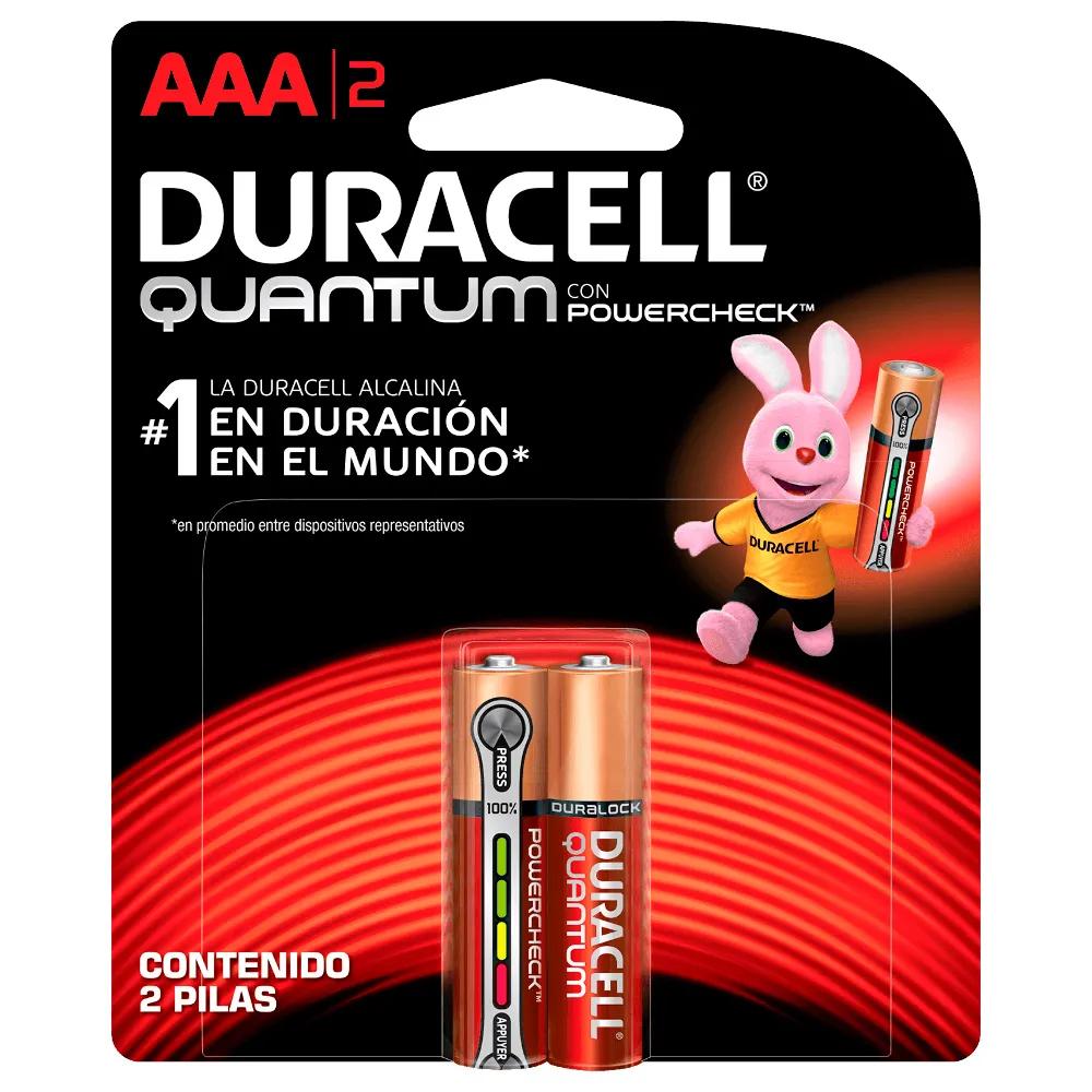 Pilha Alcalina Palito AAA Quantum Advanced 2 UN Duracell