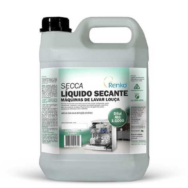 Secante para Máquina de Lavar Louça Secca 5L 1 UN Renko
