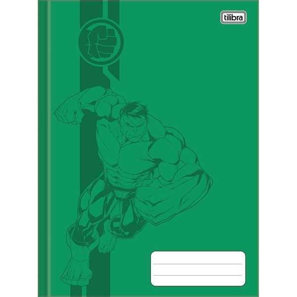 Caderno Brochurão Capa Dura Universitário 80 FL Avengers C 1 UN Tilibra