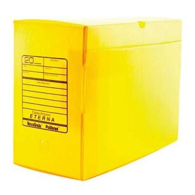 Arquivo Morto Gigante Polionda 390x185x300mm Amarelo 1 UN Polibras