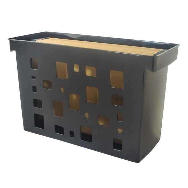 Arquivo DelloColor Preto com 6 Pastas Kraft 1 UN Dello