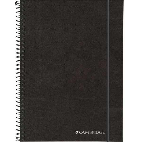 Caderno Executivo Capa Dura 80 FL Cambrigde Preto 1 UN Tilibra
