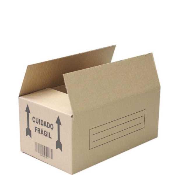 Caixa de Papelão para Transporte e Mudança 35x20x15cm 1 UN Frugis