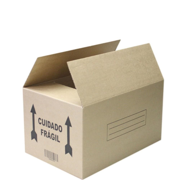 Caixa de Papelão para Transporte e Mudança 45x30x25cm 1 UN Frugis