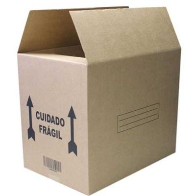 Caixa de Papelão para Transporte e Mudança 60x40x50cm 1 UN Frugis