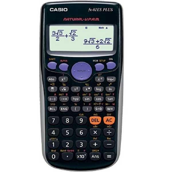 Calculadora Científica 153 Funções Preto FX-82ES 1 UN Casio