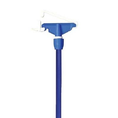 Garra Plástica para Mop Úmido com Cabo Azul HE22AZ 1 UN Bralimpia