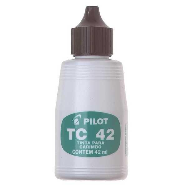 Tinta para Carimbo Preto 42ml 1 UN Pilot