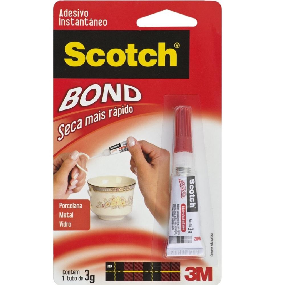 Cola Instantânea Scotch Bond 3g 1 UN 3M