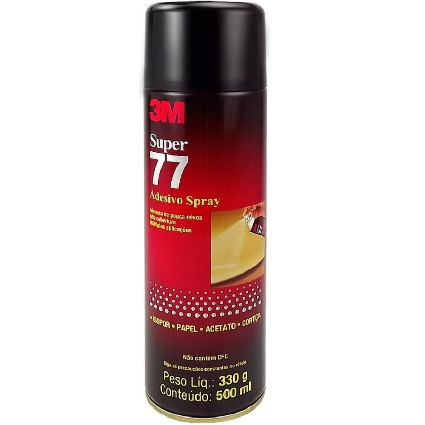 Cola Spray Adesivo Super 77 330g 1 UN 3M