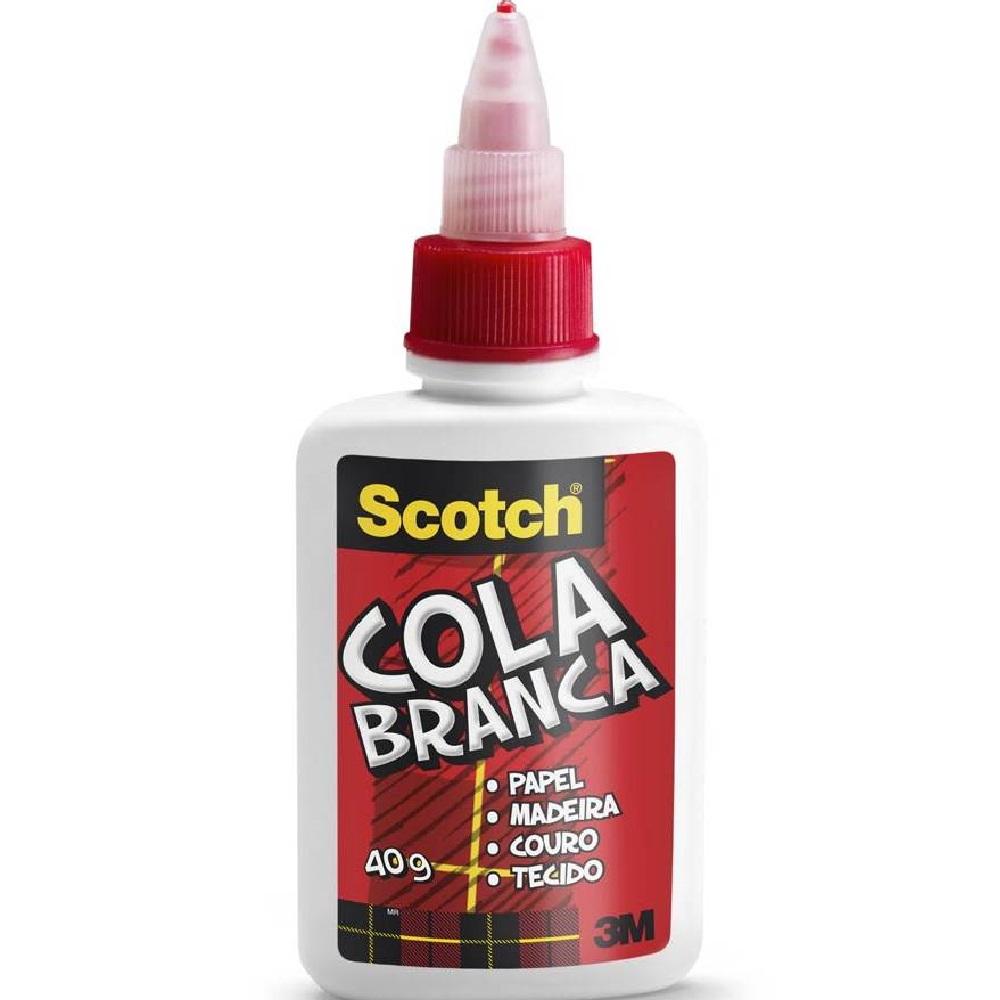 Cola Líquida Scoth Branca 40g 1 UN 3M