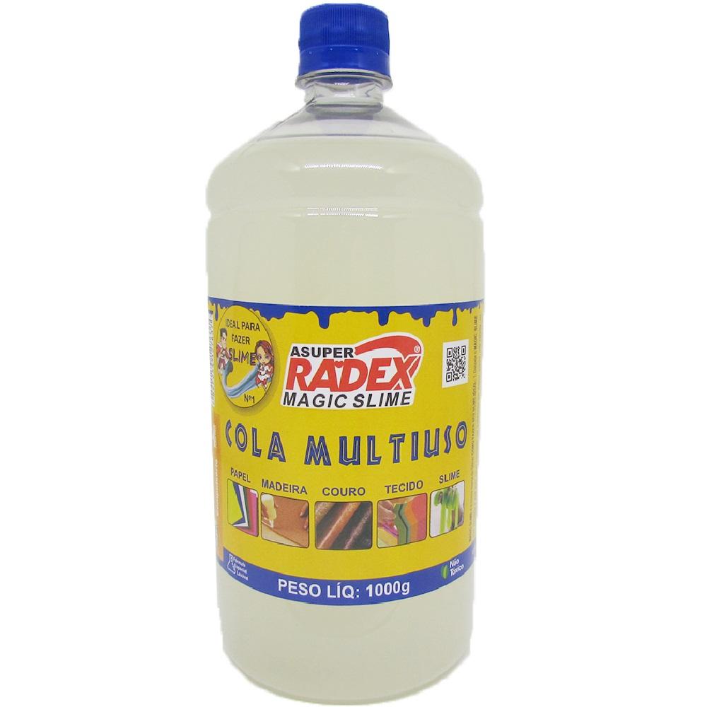 Cola Multiuso Magic Slime Transparente 1kg 1 UN Radex