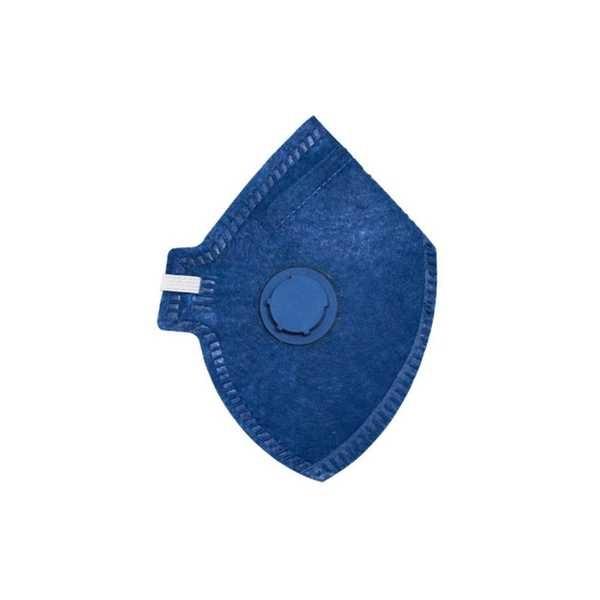 Máscara Descartável PFF2 com Válvula Azul CA 38503 1 UN Delta Plus