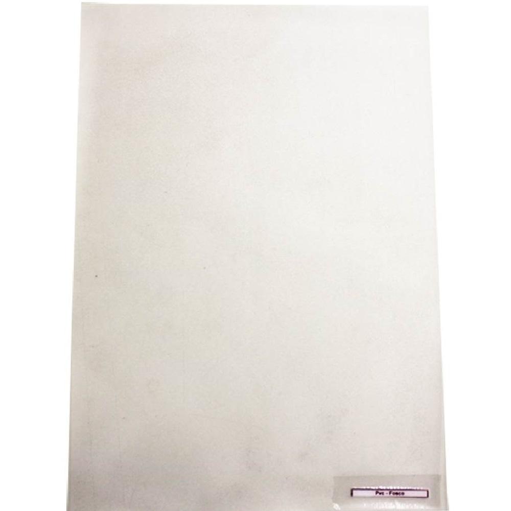 Capa para Encadernação PVC A4 Incolor Fosca 210x297mm 1 UN Assismaq