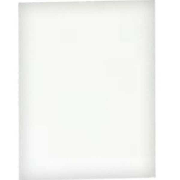 Capa para Encadernação PVC A4 Branco 210x297mm 1 UN Assismaq