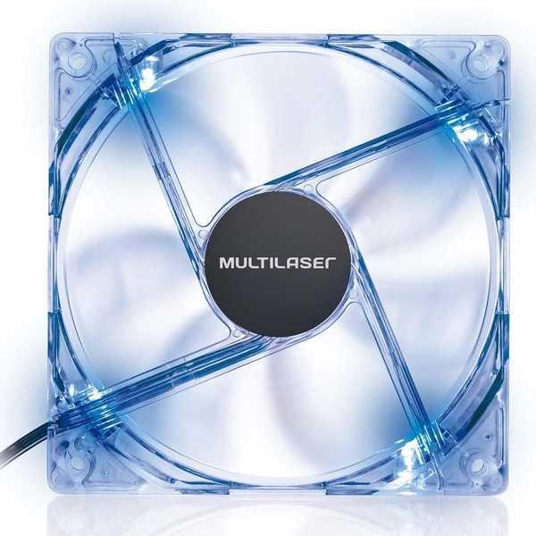 Cooler Fan com LED Azul GA135 1 UN Multilaser