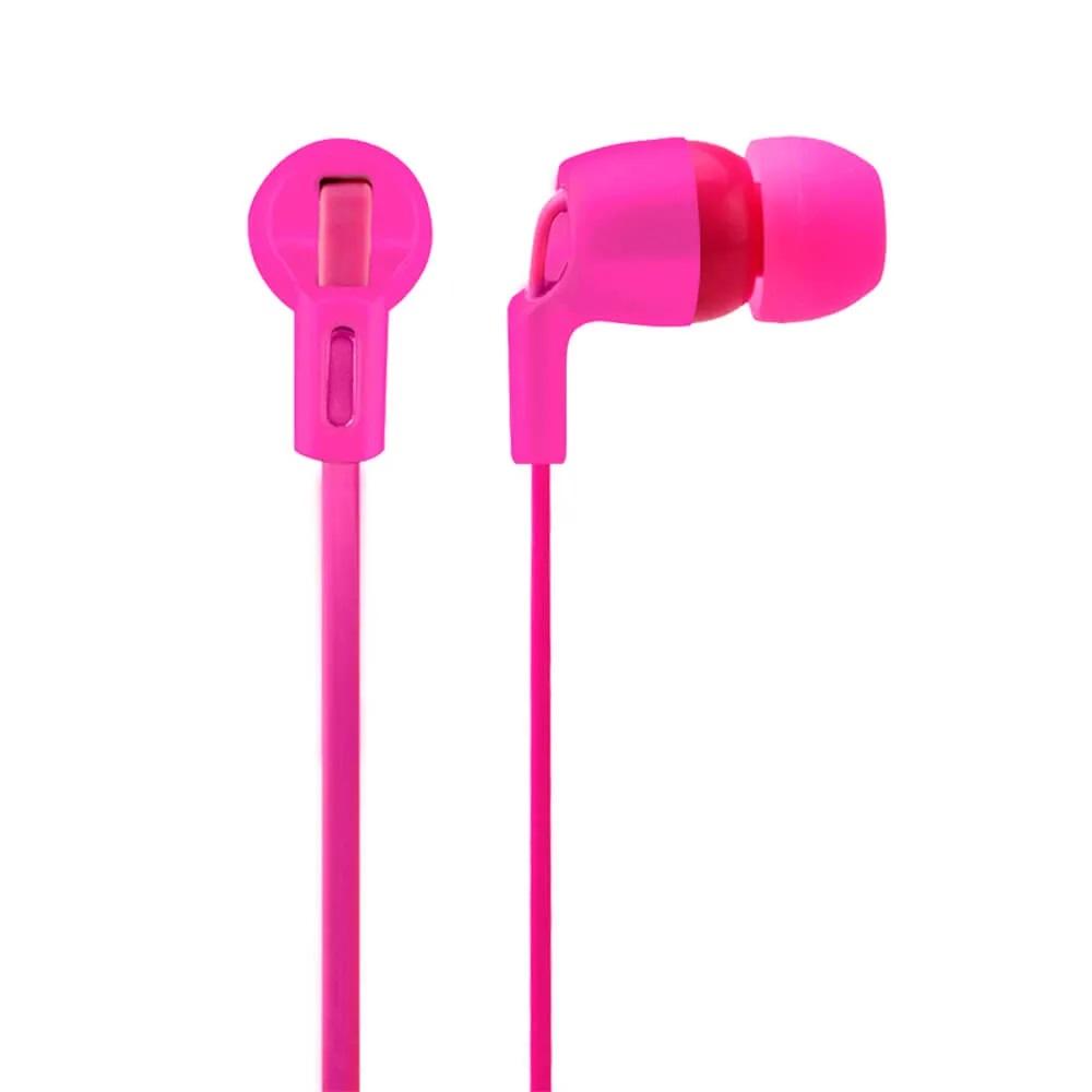 Fone de Ouvido Neon Series com Microfone P2 Rosa PH139 1 UN Multilaser