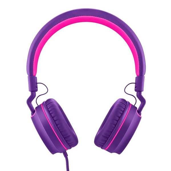 Headphone Over Ear Wired Microfone Roxo PH161 1 UN Pulse
