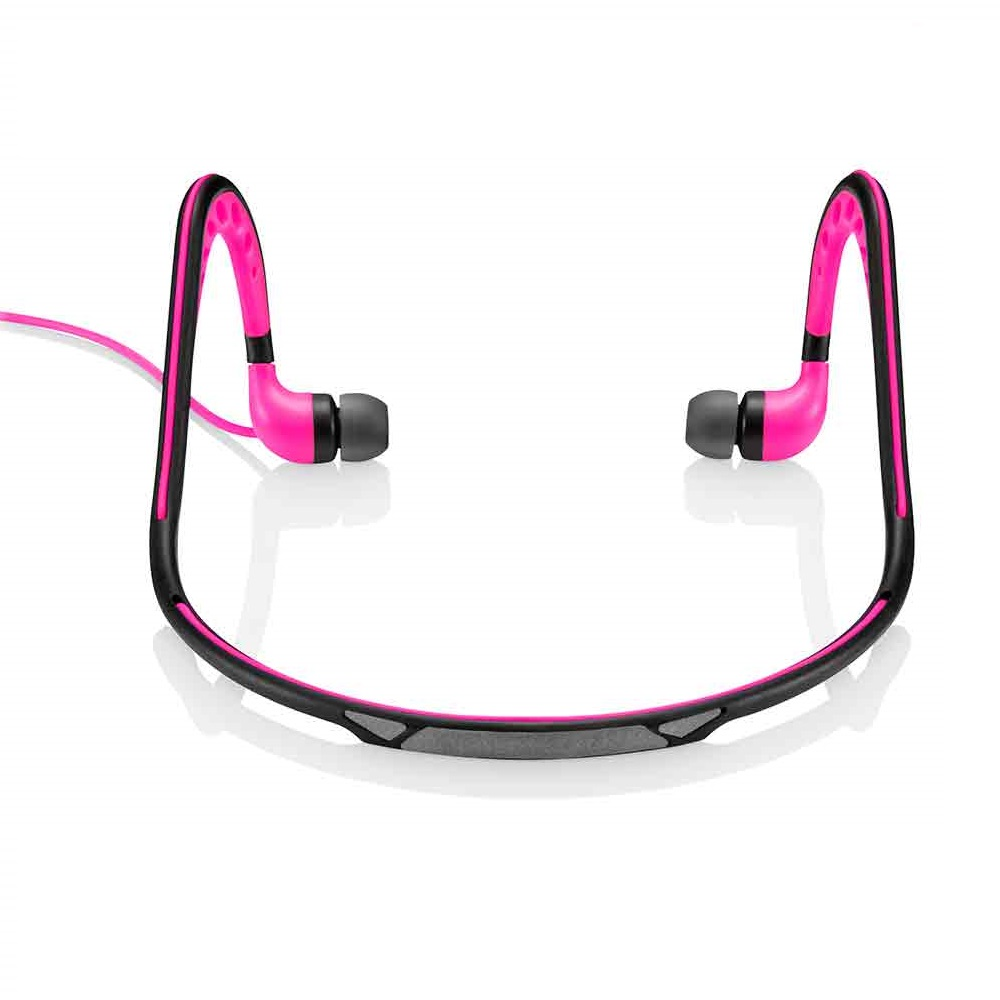 Fone de Ouvido Earphone Hands Free Wired Rosa PH201 1 UN Pulse