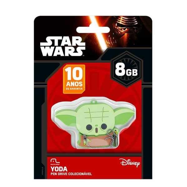 Pen Drive Mestre Yoda 8GB PD037 1 UN Multilaser