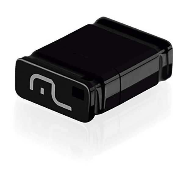 Pen Drive Nano Preto 4GB PD052 1 UN Multilaser