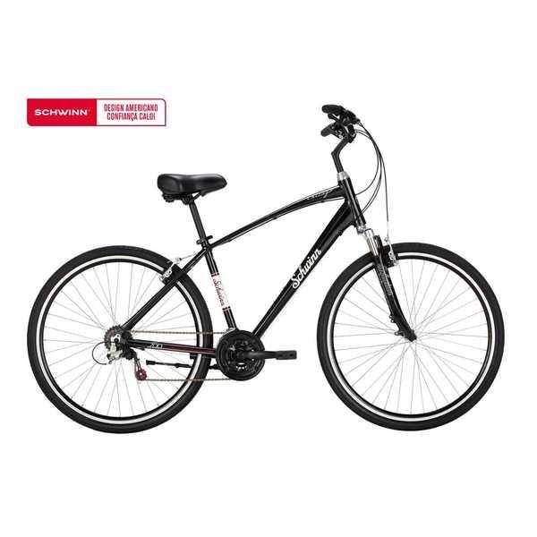 Bicicleta Chicago Aro 700 Preto 1 UN Schwinn
