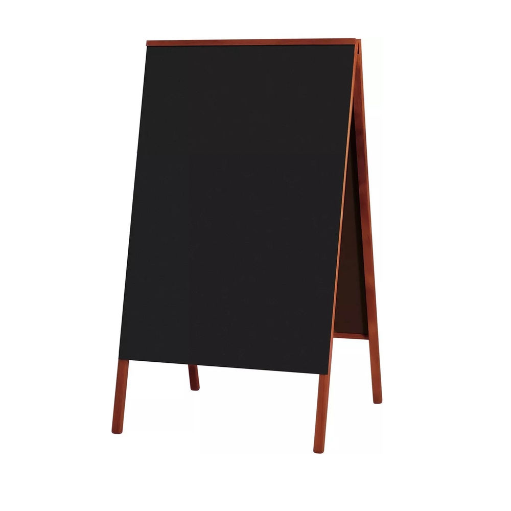 Cavalete de Calçada Quadro Negro 70x50cm 1 UN Souza