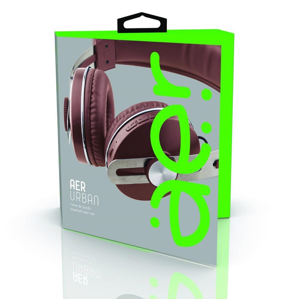 Headphone Over-Ear sem Fio Brown AER04BN  1 UN Geonav