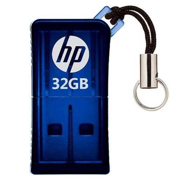 Pen Drive 32GB Mini V165W USB 2.0 1 UN HP