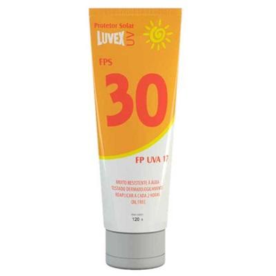 Protetor Solar FPS 30 UVA 17 120ml 1 UN Luvex