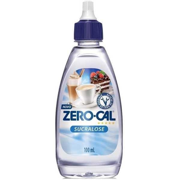 Adoçante Líquido Sucralose 100ml 1 UN Zero Cal