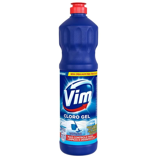 Limpador para Banheiro Cloro Ativo Original 700ml 1 UN Vim