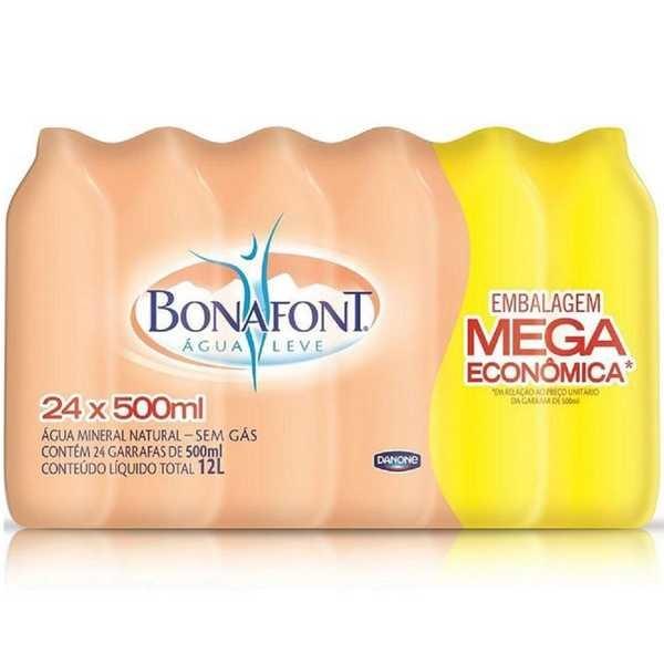 Água Mineral sem Gás 500ml PT 24 UN Bonafont