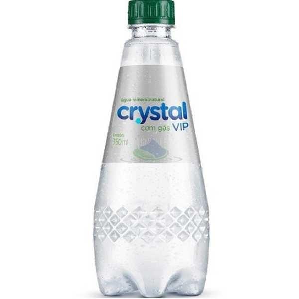 Água Mineral com Gás 350ml 1 UN Crystal