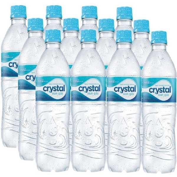 Água Mineral sem Gás 500ml PT 12 UN Crystal