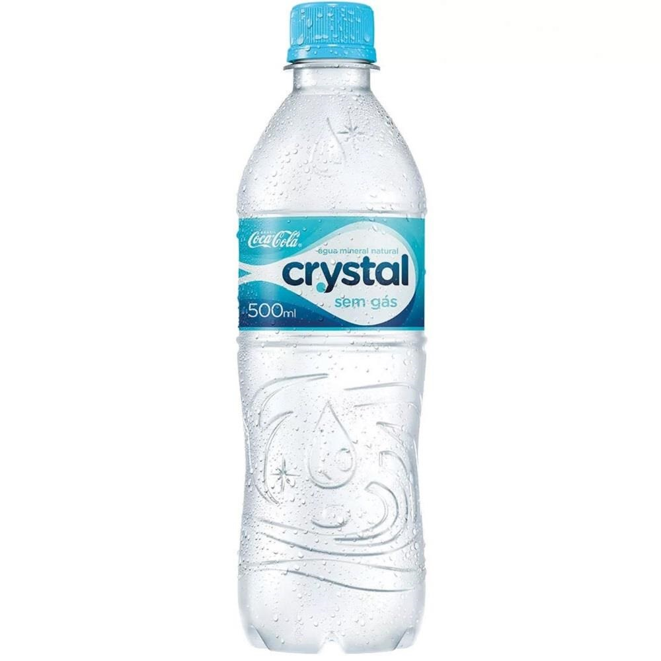 Água Mineral sem Gás 500ml 1 UN Crystal