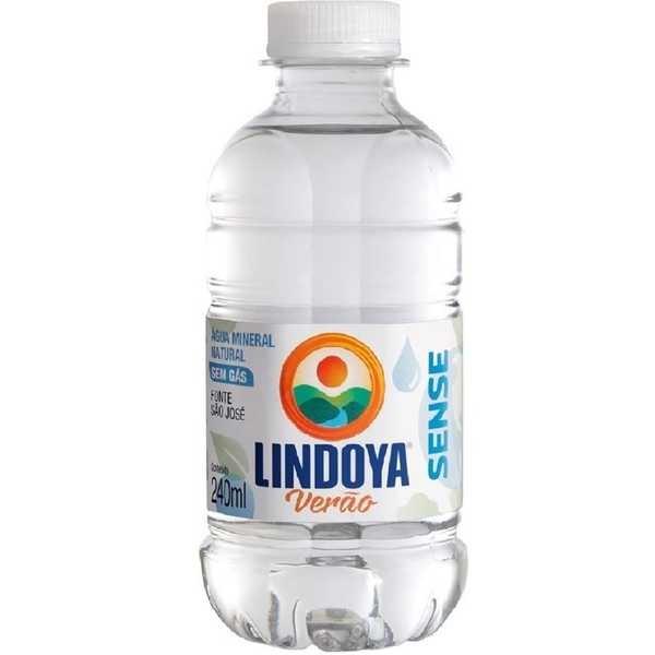 Água Mineral sem Gás Verão Sense 240ml 1 UN Lindoya