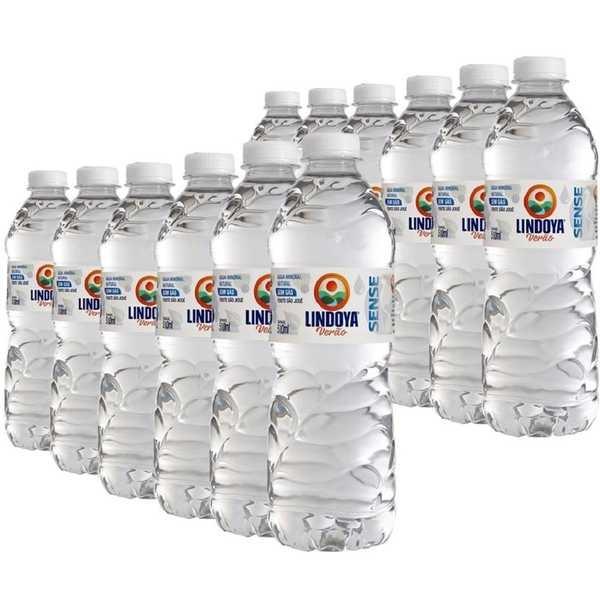 Água Mineral Verão Sense sem Gás 510ml PT 12 UN Lindoya