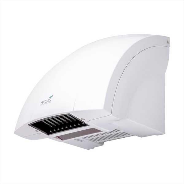 Secador de Mãos WJ Sensor Infravermelho 127V Branco 1 UN Biovis