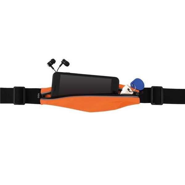 Pochete Sport Fit Preto e Laranja PO100 1 UN OEX