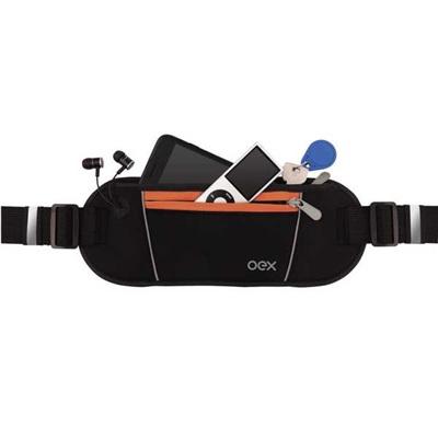 Pochete Sport Move Preto e Laranja PO200 1 UN OEX