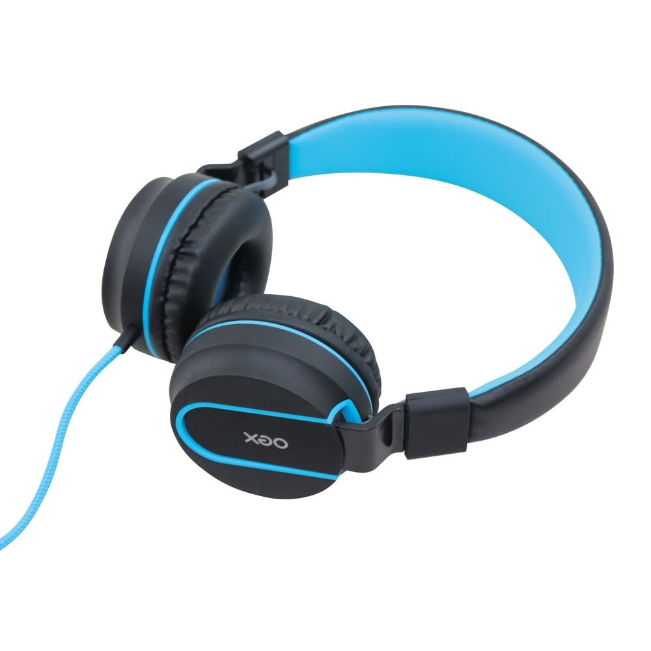 Headphone Neon Cinza e Azul HS106 1 UN OEX