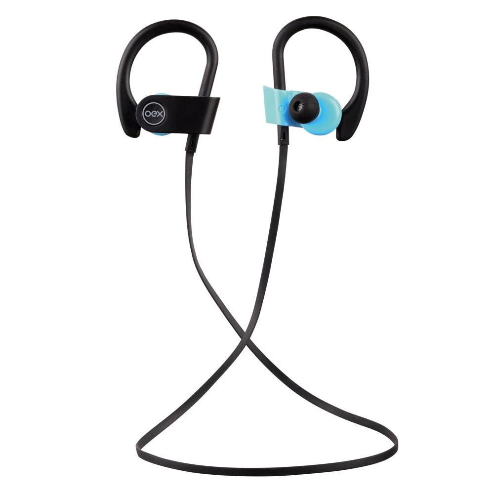 Fone de Ouvido Sport Move com Microfone Bluetooth Preto e Azul HS303 1 UN OEX