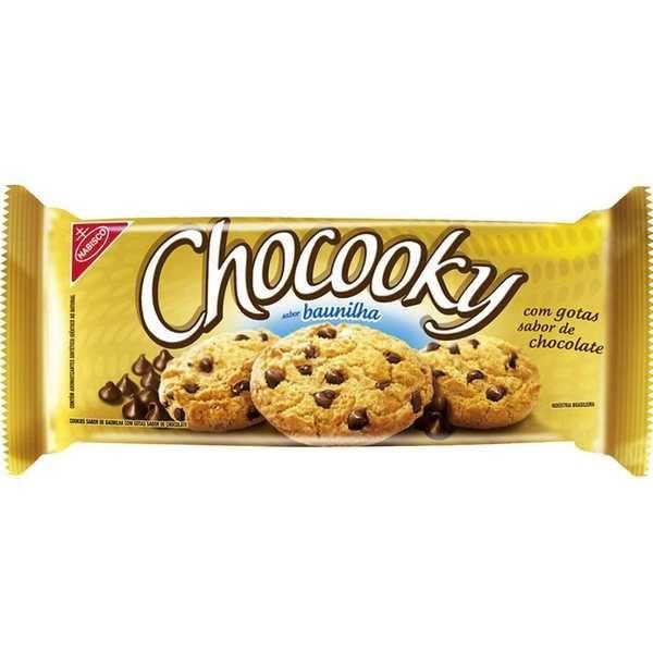 Biscoito Baunilha 120g 1 UN Chocooky